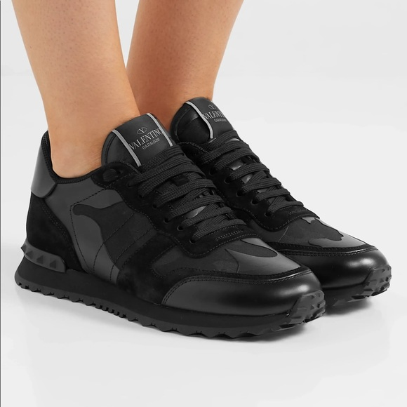 Camouflage Noir Rockrunner Sneaker